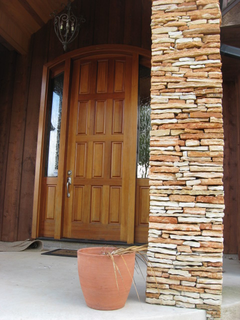 Stacked Stone Columns : Stacked stone wall ideas from gottschalk quarry