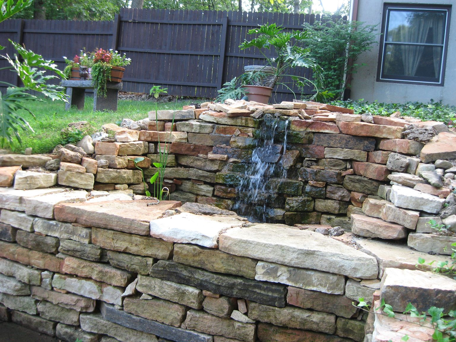 Stacked Stone Wall Ideas From Gottschalk Quarry