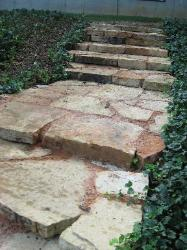 Natural Stone Steps - Path - Hillsboro, MO