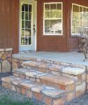 Faced Flagstone Steps - Piedmont, MO