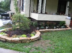 Natural Stone Border Edging - Ferguson, MO