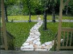 Natural Stone Steppers Path - Piedmont, MO