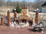 Outdoor Hearth - Ozark Natural Stone Veneer