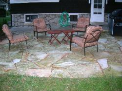 Quincy Illinois Flagstone Stepper Patio