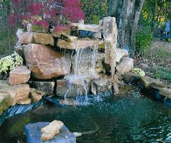 Rock for ponds and waterfalls - Missouri Ozarks