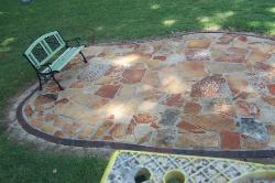 Ozark Red Sandstone Patio Pavers - Outdoor Living